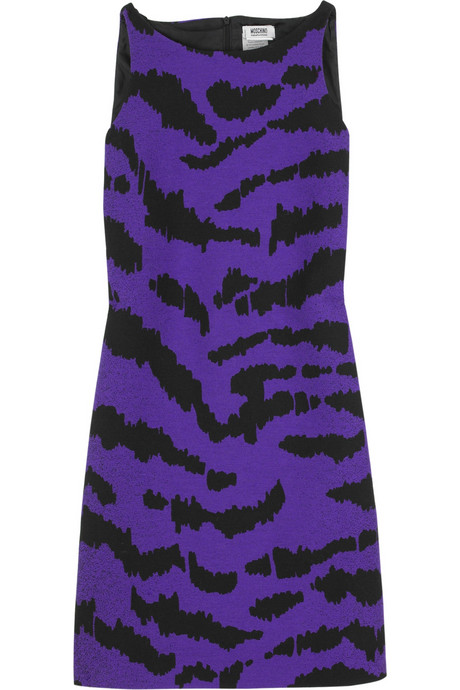 Moschino Cheap & Chic Tiger Shift Dress