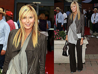 Maria Sharapova Attends the 8th Annual USTA Serves' OPENing Gala at the 2008 US Open