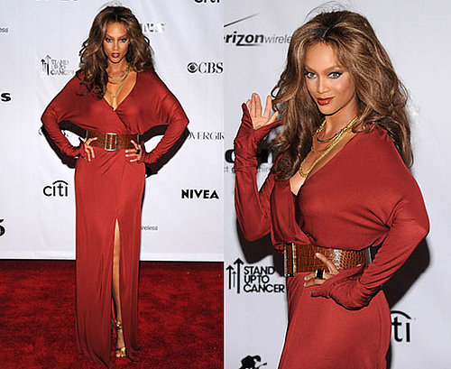 2008 Fashion Rocks: Tyra Banks