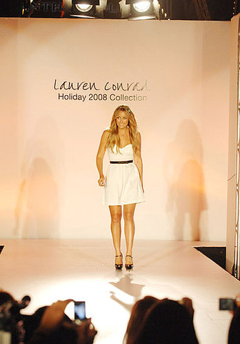 Lauren Conrad Attends a Homecoming Fashion Show at the First Ever Style Week at The Irvine Spectrum Center