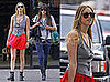 Whitney Port Wearing Diane von Furstenberg While Out and About in NYC
