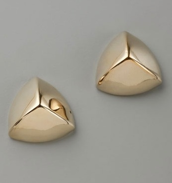 Bing Bang Triangle Pyramid Studs