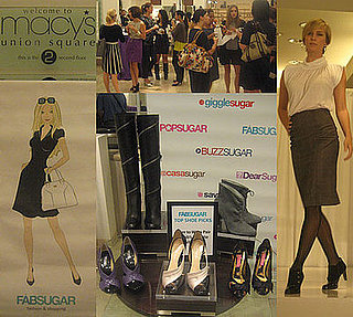 Behind the Seams: FabSugar and Macy's Shoe Diva Shopping Event