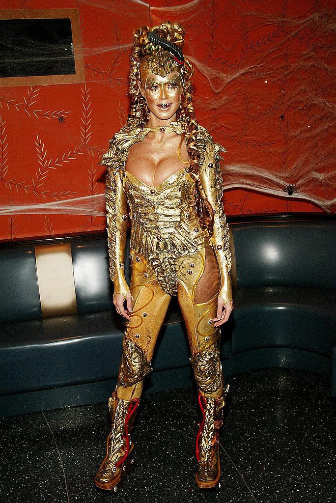Heidi Klum: Master of Halloween Ceremonies