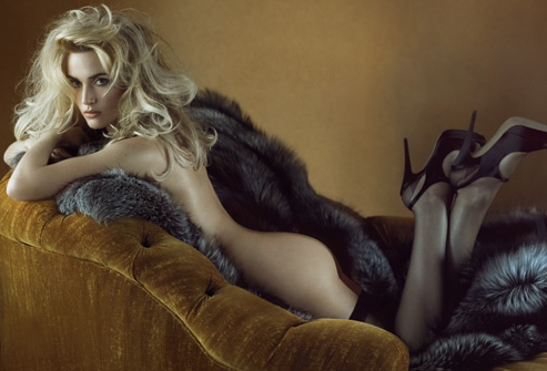 Kate Winslet Upset Over Posing on Real Fur In Vanity Fair Magazine