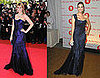 Mischa Barton and Ivanka Trump Both Wear Alberta Ferretti&#039;s Blue One-Shoulder Gown
