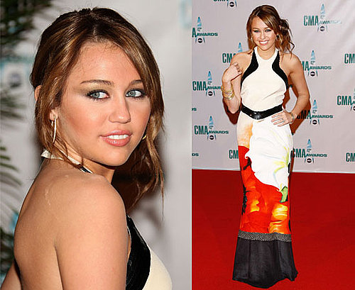 2008 Country Music Association Awards: Miley Cyrus