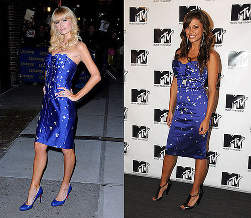 Who Wore It Better? Tracy Reese Star Spangled Dress
