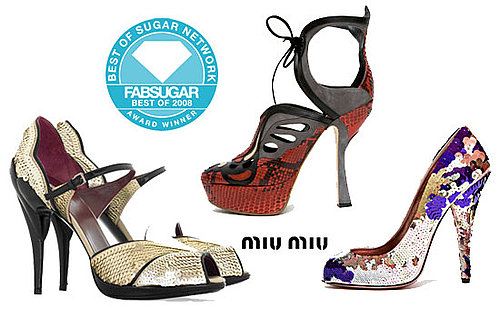 Best of 2008: And the Shoe Designer of the Year Is . . .