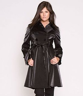 Fab Finger Discount: Kensie Metallic Trench Coat