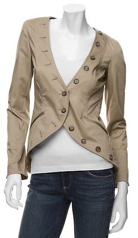 Elizabeth and James Stretch Cutaway Jacket