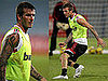 Photos of David Beckham Playing Football in Dubai With AC Milan