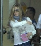 Jennifer Aniston Arrives in Cabo