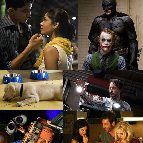 Favorite Movies of 2008