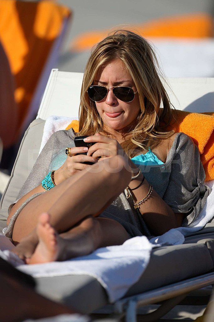 Kristen Cavallari Soaks Up the Sun