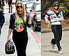 Photos of Fergie Shopping and Jogging in LA