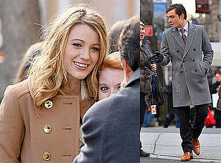 Photos of Blake Lively and Ed Westwick Filming Gossip Girl in NYC