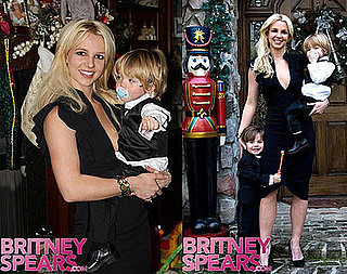 Photos of Britney Spears and Her Sons on New Year's Eve