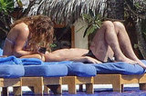 Geri in the Maldives