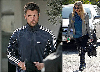 Photos of Fergie Leaving the Salon in LA, Josh Duhamel Shopping in LA