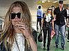 Photos of Newlyweds Fergie and Josh Duhamel at LAX On Way to Honeymoon