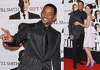 Photos of Will Smith, Rosario Dawson, at Seven Pounds Premiere in Paris
