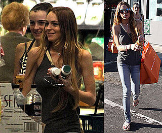 Thin Lindsay and Ali In LA