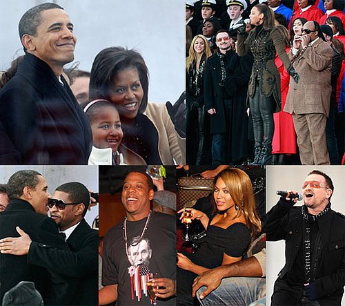 Photos of Barack Obama We Are One Concert at an Obama Inauguration Celebration, Including Beyonce, Bono, Bruce Springsteen