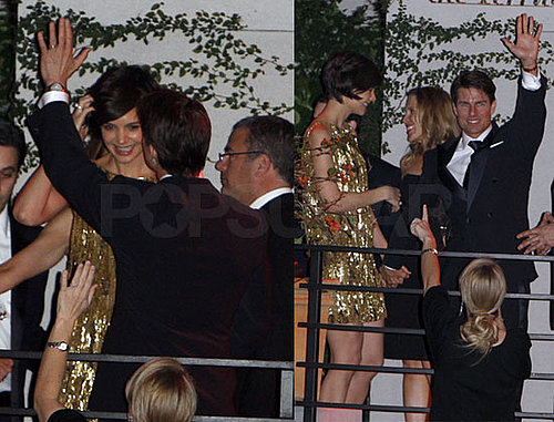 Photos of Katie Holmes Arriving in LA From NYC For Golden Globe Afterparty With Tom Cruise