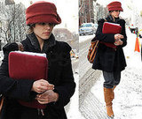 Rachel McAdams in Snowy Brooklyn