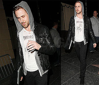 Photos of Ryan Gosling Leaving the LA Club Bardot
