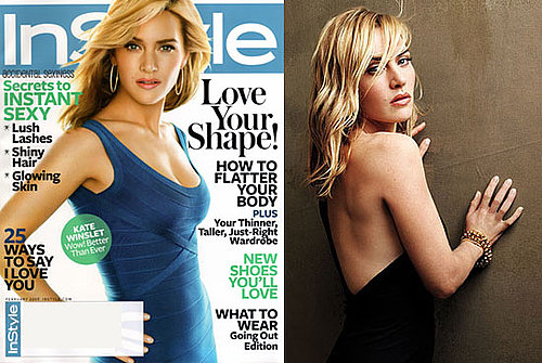 Photos and Quotes of Kate Winslet from February's InStyle