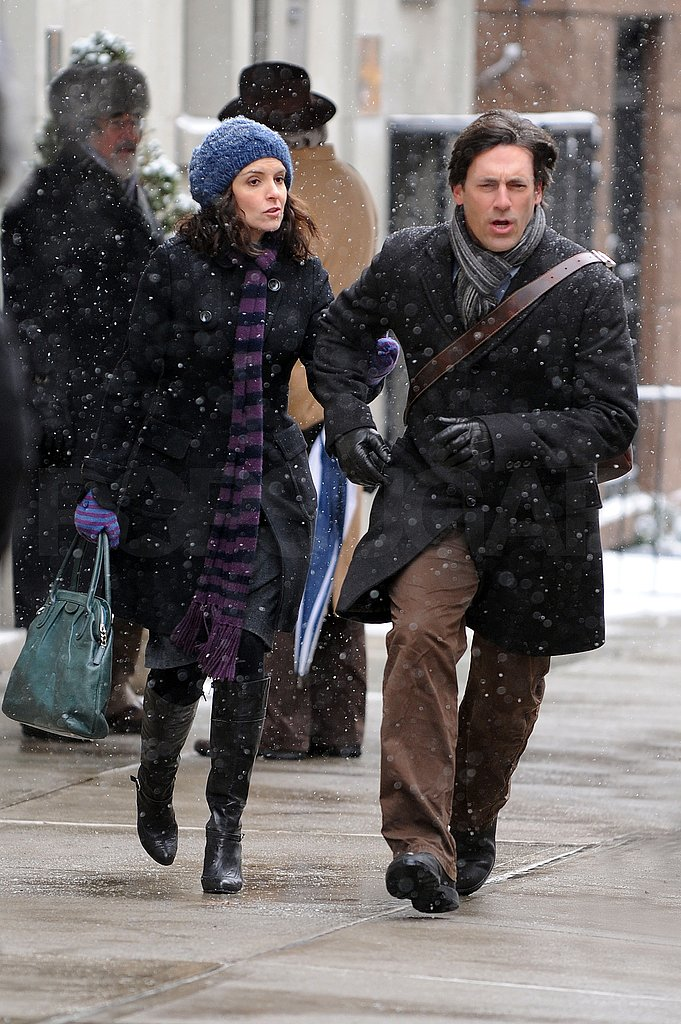Tina Fey and Jon Hamm