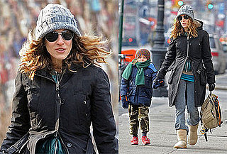 Photos of Sarah Jessica Parker and James Wilkie in NYC, Following Rumors of Sex and the City Movie Sequel