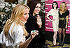 Photos of Anne Hathaway and Kate Hudson Promoting Bride Wars in Europe