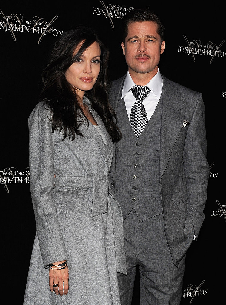 Brad and Angelina at Benjamin Button Paris Premiere