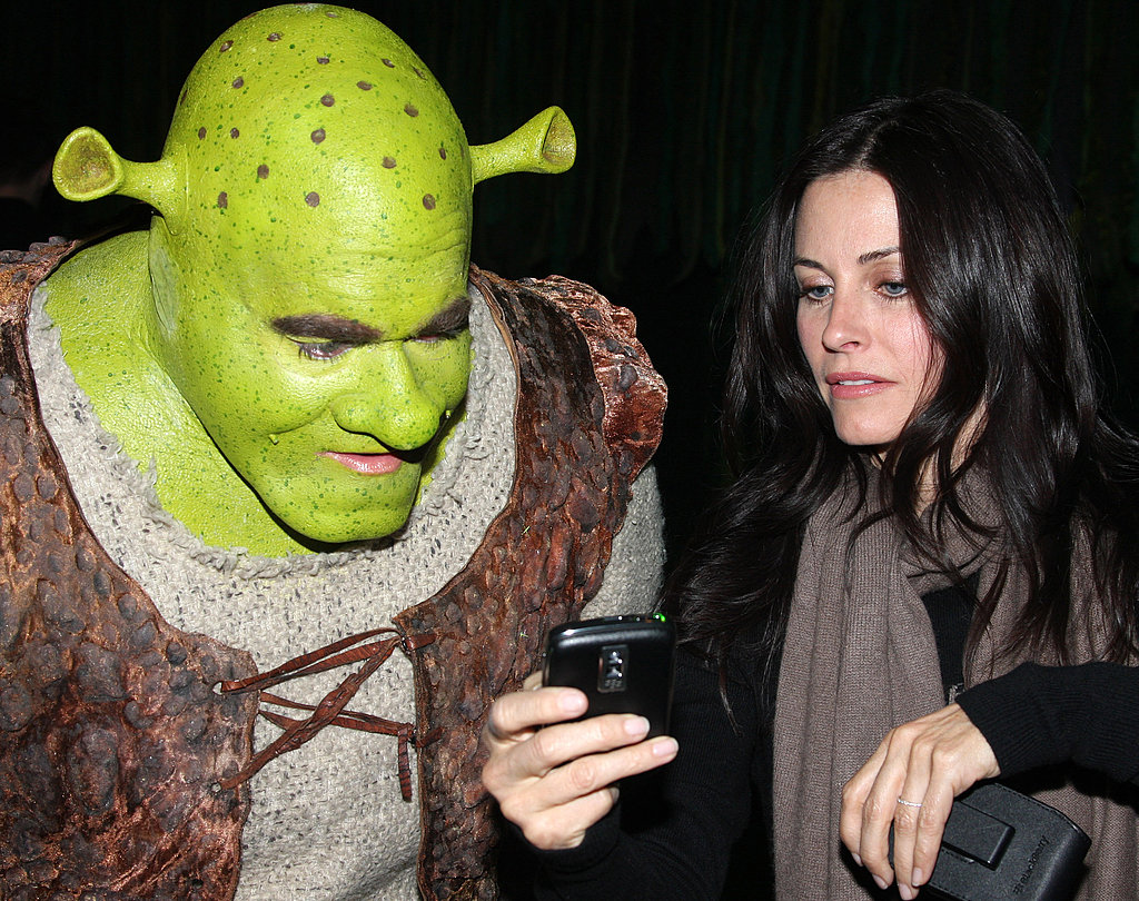 Courtney and David Meet Shrek