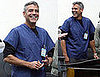 Photos of George Clooney on the Set of ER