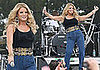 Jessica Simpson Hikes Up Her Jeans and Sings For Chili