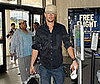 Photo of Josh Duhamel at LAX