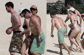 Photos of Shirtless Justin Timberlake and Jessica Biel Bikini Photos in Mexico