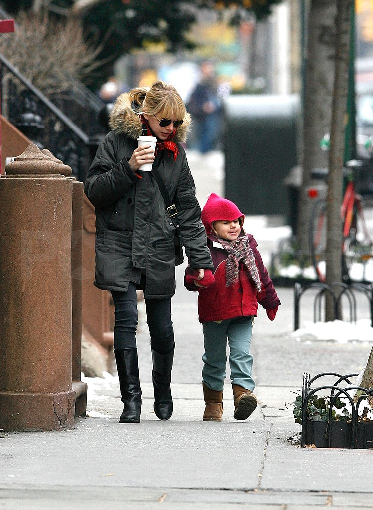 Michelle and Matilda Out For Coffee