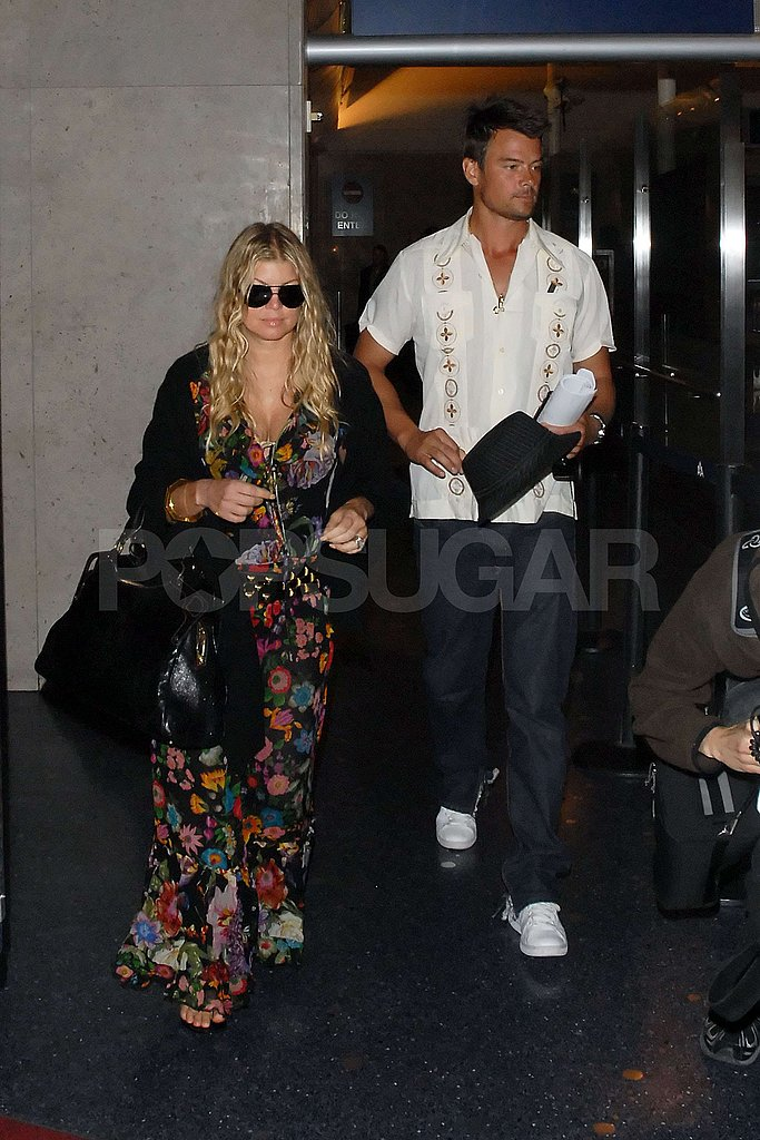 Fergs and Josh Arrive in LA