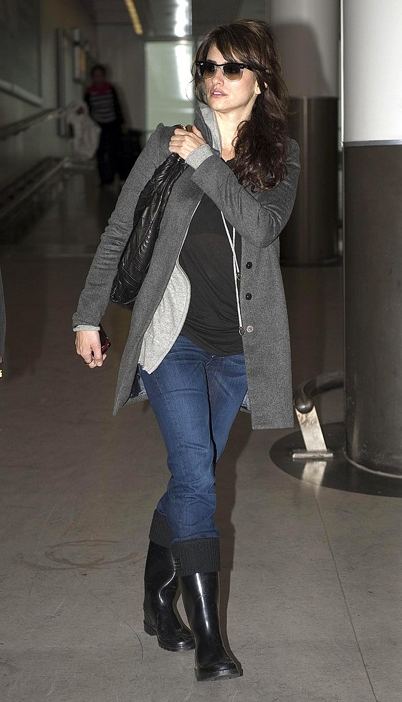 Penelope Arrives at Heathrow