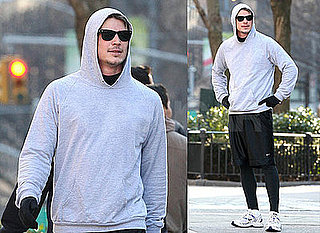 Photos of Josh Hartnett Running in NYC