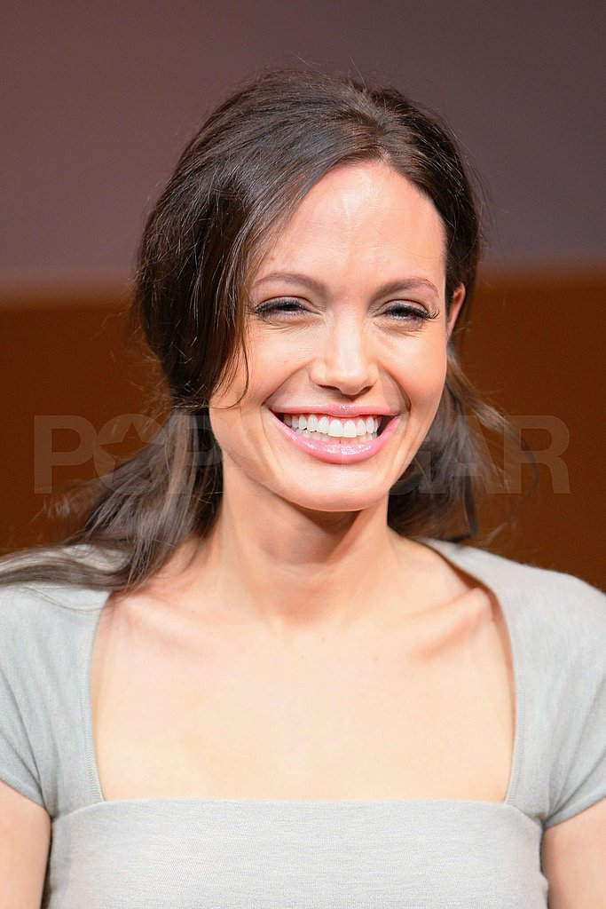 Angelina Jolie at Japan Changeling Event