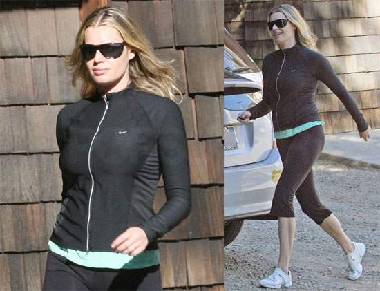 Rebecca Romijn Works Out