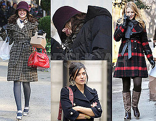 Photos of Gossip Girl Cast Filming in New York City 2009-02-03 17:00:00