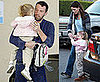 Photos of Jennifer Garner and Ben Affleck Picking Up Violet Affleck From School