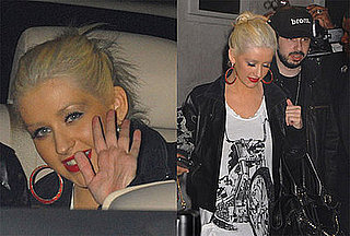 Xtina and Jordan Hit Up the Hot Spots